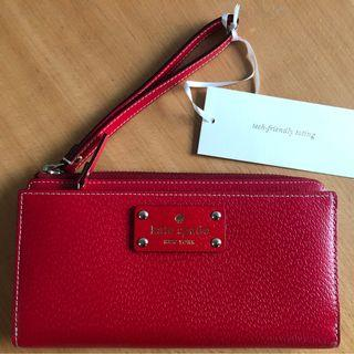 Kate Spade Wallet - Chillli Red