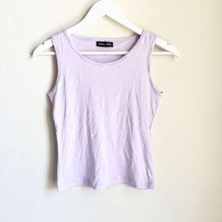 LAVENDER SLEEVELESS TOP