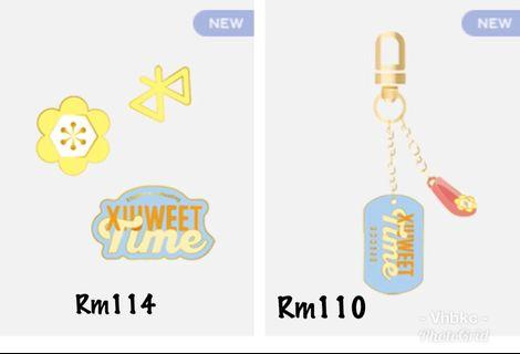 XIUMIN FANMEETING OFFICIAL GOODS
