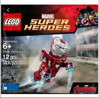 🚚 Lego 5005246 silver centurion Ironman marvel limited edition