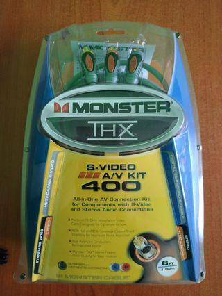 NEW ORI Monster Cable 400 RCA stereo