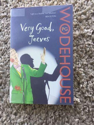 Wodehouse Very good, Jeeves
