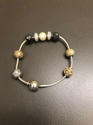 Pandora Essence Bracelet with 9 charms