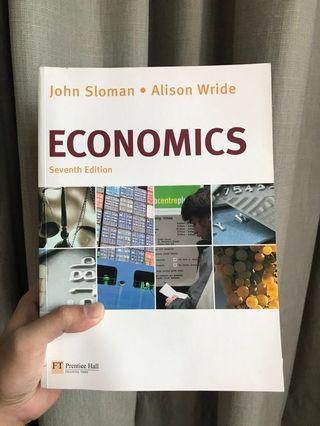 Economics John Sloman 7th Edition