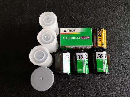 Expired film 5 rolls