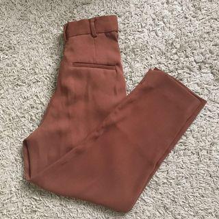 H&m brown trouser pant