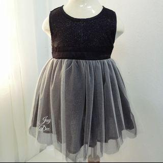 ❤️Baby Tutu Dress (Sparkling Black)❤️