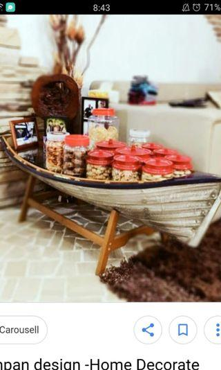🚚 Boat coffee table