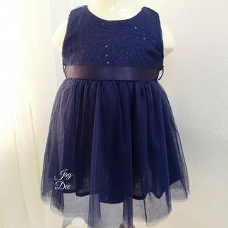 ❤️Baby Tutu Dress (Sequin Navy Blue)❤️