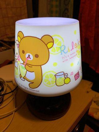 鬆弛熊燈 燈 變色燈 light lamp Rilakkuma 夜燈 房燈 枱燈