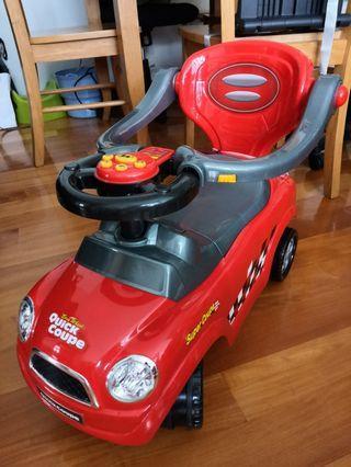 BB 學行玩具車 quick coupe