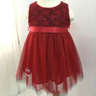 ❤️Baby Tutu Dress (Sequin Red)❤️