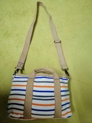 Stripe Sling Bag Rototte