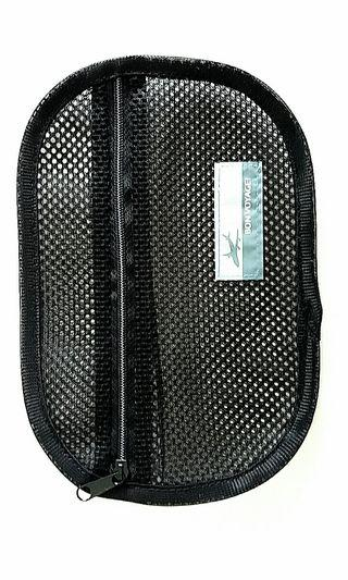 Black Travel Mesh Case - Small Size