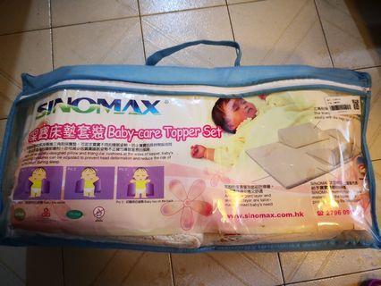 Sinomax 保寶床墊套裝Baby-care Topper Set