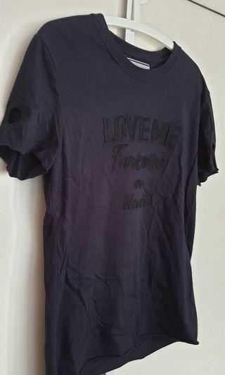 Sale Andrea Pompilio dark blue t shirt