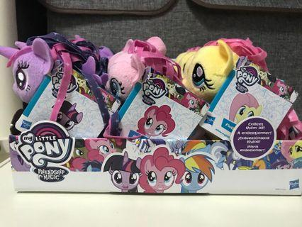 Another batch of new stock! My little pony 5inch plush🦄