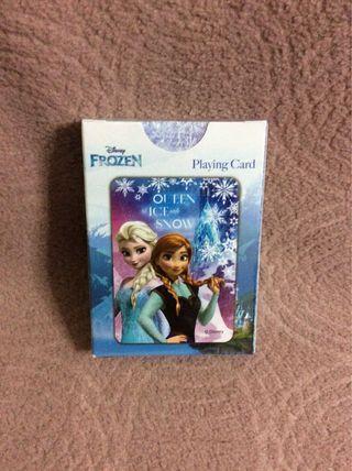Disney Elsa 正品 playing card