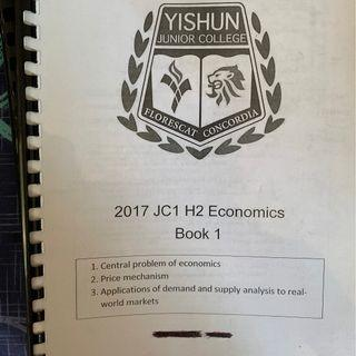 SELLING H2 ECONOMICS TEXTBOOK AND PRELIM PAPERS