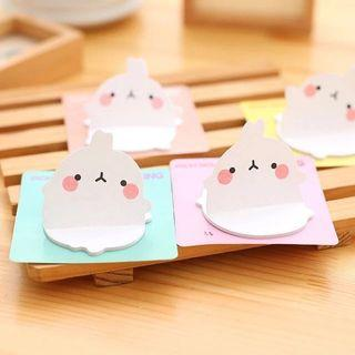 {bulk / wholesale} 30pc Molang Post it
