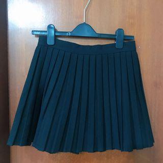 黑色百摺裙 black skirt 99%new