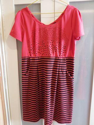 #BAPAU Pink Dress