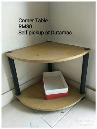 Corner table #RayaHome