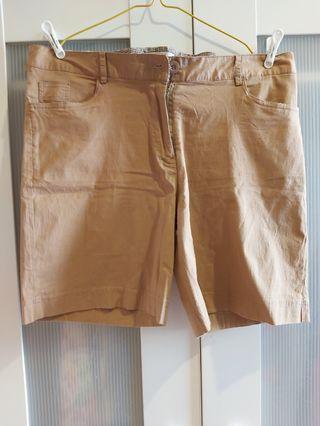 #BAPAU Brown Shorts
