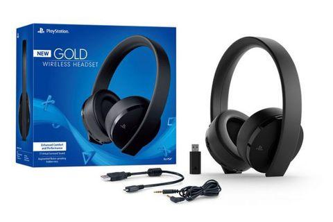 Sony PS4 Playstation New Gold Headset