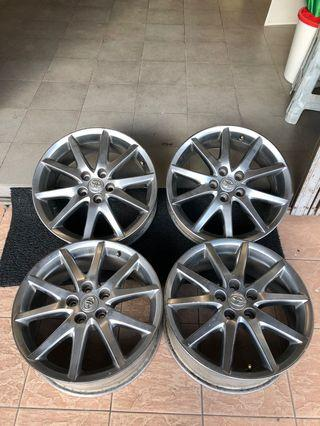 18inch Toyota ori limited color rim