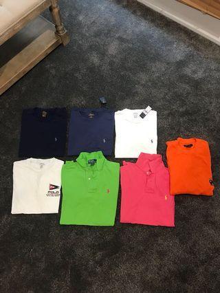 Ralph Lauren T-shirt's polos