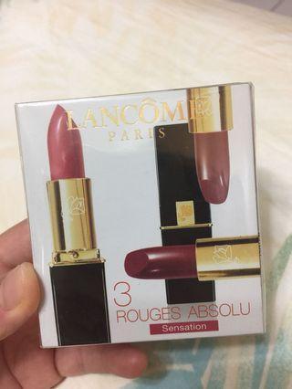 🚚 Lancôme-rouges absolu 唇膏(整組)