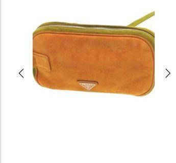 🚚 New Prada clutch bag with tag