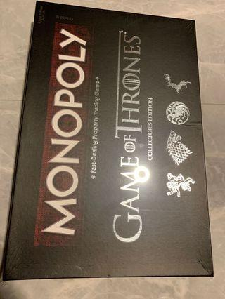🚚 GAME OF THRONES Monopoly Collectors Edition