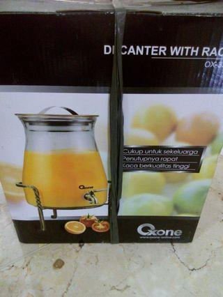 Decanter with rack Oxone