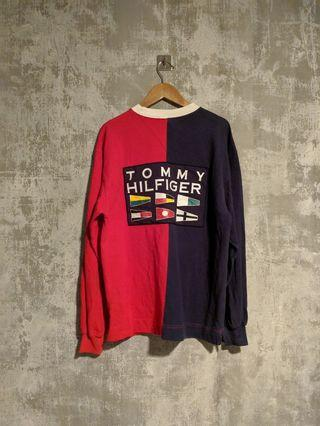 Tommy Hilfiger L/S Top With Large Spellout Logo