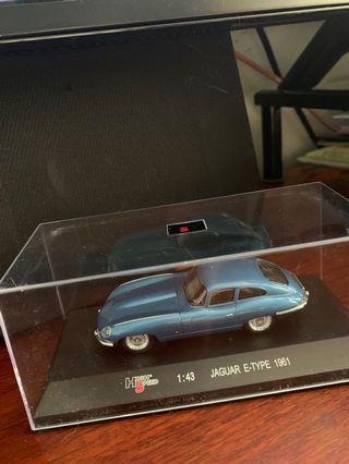 Jaguar E-type 1961 1:43