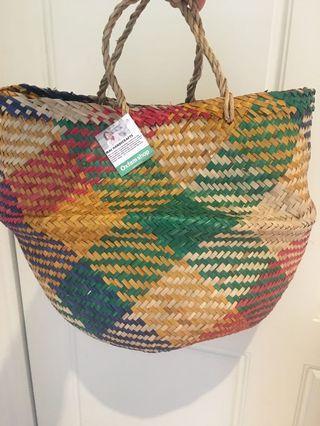 Oxfam collapsible basket/bag