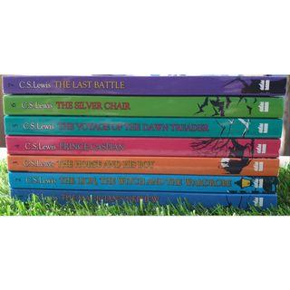 THE CHRONICLES OF NARNIA COMPLETE COLLECTION (7 BOOKS) by C.S.LEWIS