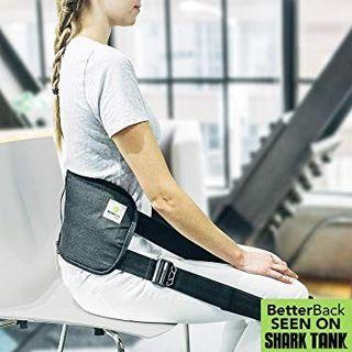 🚚 Betterback posture & spine assistant. Sit straight device
