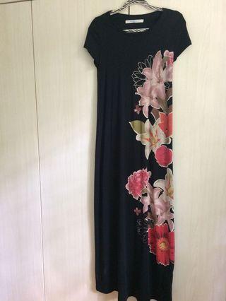 Desigual Floral Maxi Dress