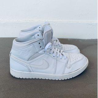 Nike Air Jordan 1 Mid (White)