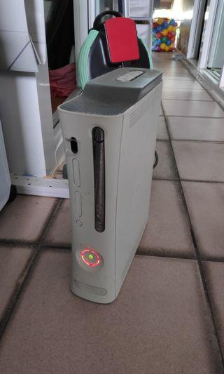 Xbox 360 Red ring of death White 5gb HDD AC adapter av cable lead spares repairs