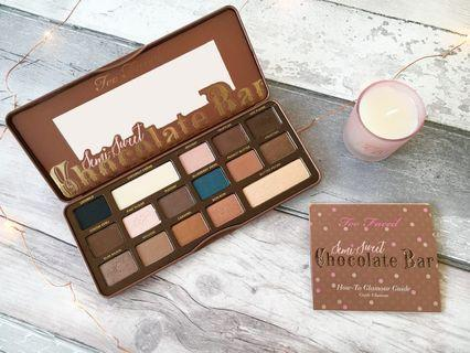 New Too Faced Semi Sweet Palette