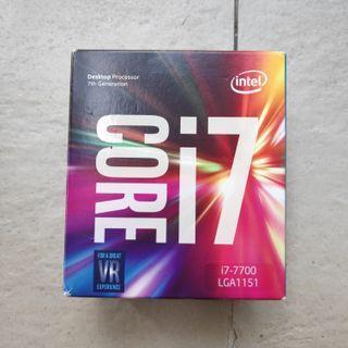 Intel Core i7 7700 LGA 1151 Desktop Processor / CPU
