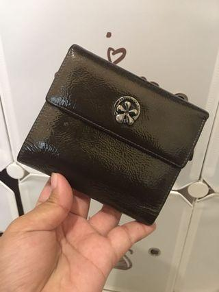 Pierre cardin wallet pattent leather