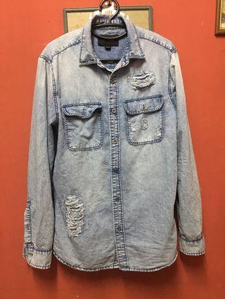 Prelove item Kemeja Jeans