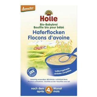 🚚 ˚✧Demeter✧༚ 3 x Holle Organic Wholegrain Cereal Oats Porridge 25g