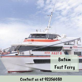 BATAM FAST FERRY (All Taxes Included)