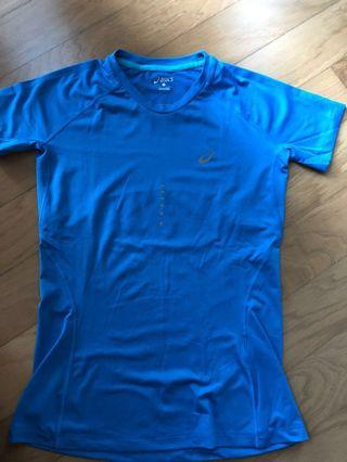 Asics - ladies running shirt S